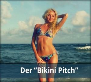 Der Bikini Pitch - Marketing